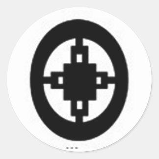 Intelligence Classic Round Sticker