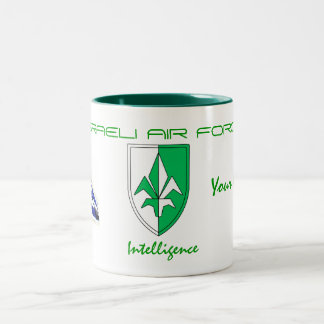 Intelligence- ISRAELI AIR FORCE Two-Tone Coffee Mug