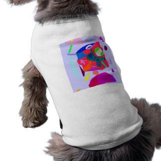 Intelligence Music Sound Tone Primitive Sleeveless Dog Shirt