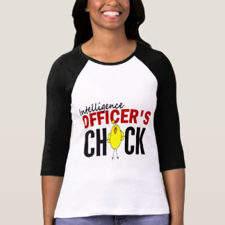 INTELLIGENCE OFFICER'S CHICK T SHIRTS