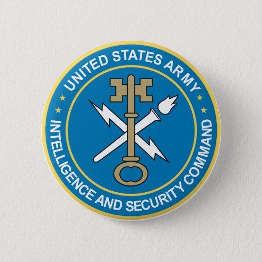 Intelligence & Security Command 6 Cm Round Badge