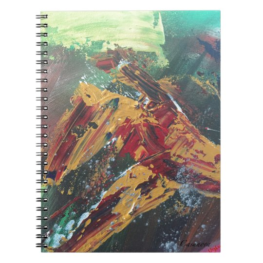 #Intelligence Spiral Notebook
