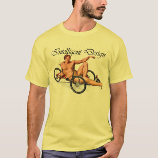 Intelligent Design - Adam and Trike T-Shirt