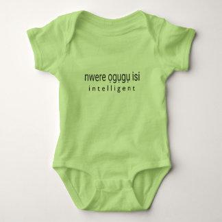 INTELLIGENT - Igbo Baby Bodysuit