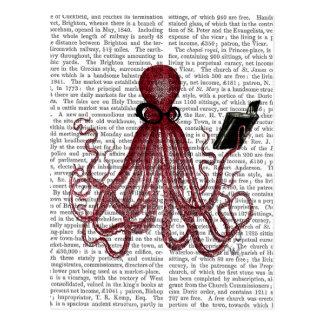 Intelligent Octopus Postcard