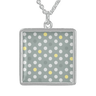 Intelligent Reserved Superb Familiar Square Pendant Necklace