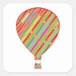 Intense Colour ARTISTIC Stripes Balloons