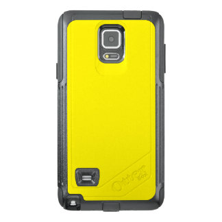 Intensely Brilliant Yellow Color OtterBox Samsung Note 4 Case