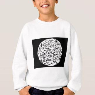 intensity white on black sweatshirt