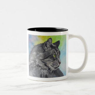 Intent Tabby Two-Tone Mug