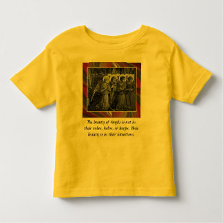 Intentions toddler shirt