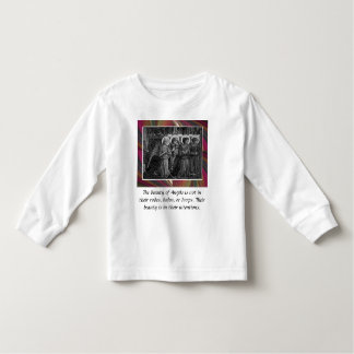 Intentions toddler shirt