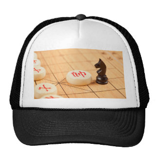 Interact with the Chinese culture Mesh Hat