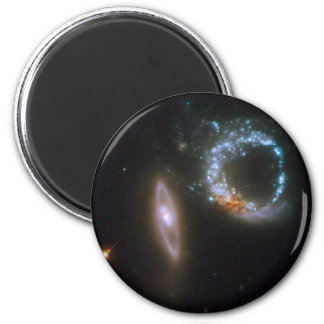 Interacting Galaxies Arp 147 Fridge Magnets