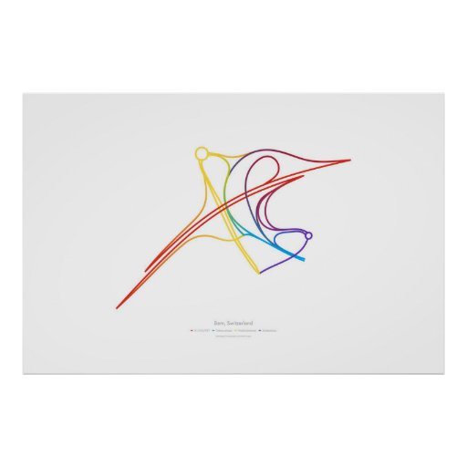 Interchange Choreography: Bern, Switzerland Poster