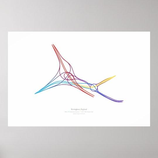 Interchange Choreography: Birmingham, England Poster