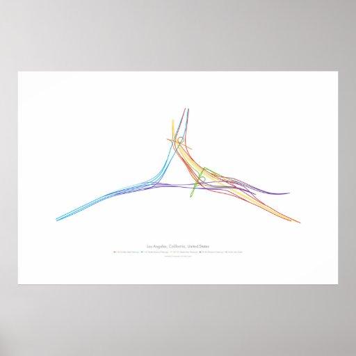 Interchange Choreography: Los Angeles, CA, US Poster