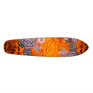 interconnections. skateboard deck