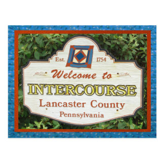 Intercourse Postcard Lancaster County. Add NAME