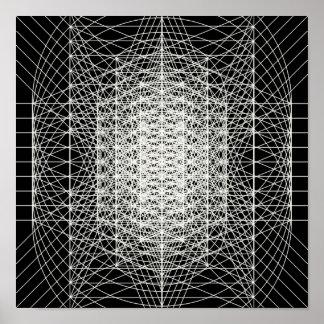 Interdimensional Sacred Geometry The Wormhole Poster
