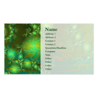 Interesting Abstract Art Pack Of Standard Business Cards