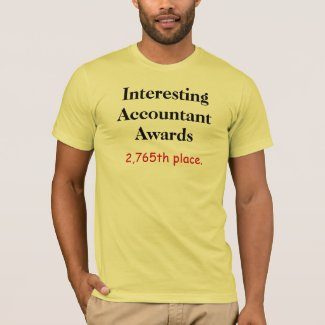 Interesting Accountant Awards Accounting Joke