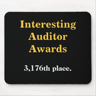 Interesting Auditor Awards - Practical Joke