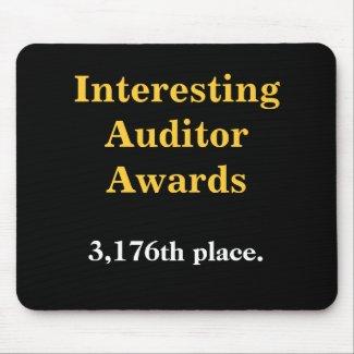 Interesting Auditor Awards - Practical Joke Mousemats