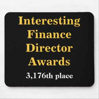 Interesting Finance Director Awards Joke Prize Mouse Mat