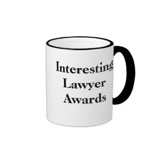 Interesting Lawyer Awards - Customisable Ringer Mug