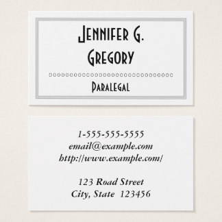 Paralegal Business Cards Business Card Printing Zazzle Co Uk