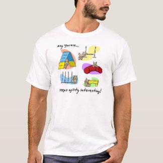 Interesting Yorkie Agility T-Shirt
