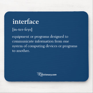 Interface Mouse Pad