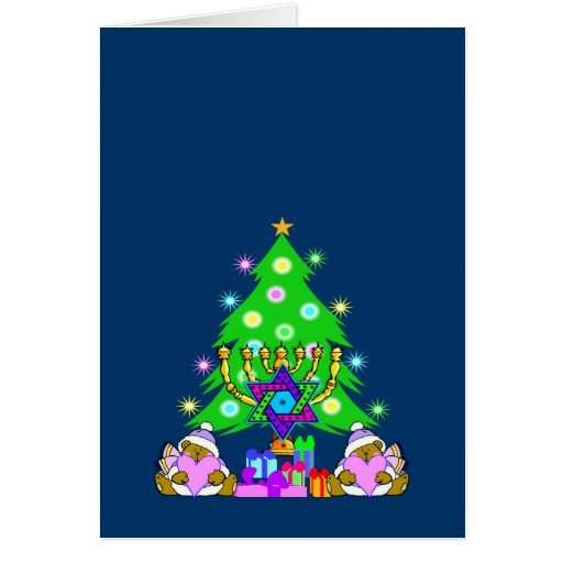 Interfaith Holiday Fun Greeting Card