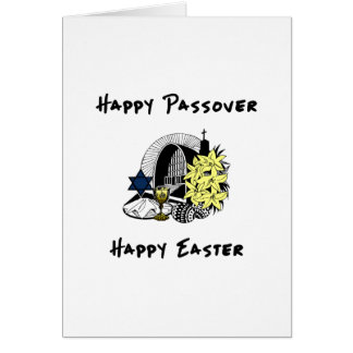 Interfaith Passover and Easter Cards