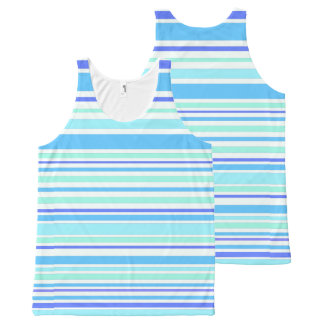 Interference (ocean) All-Over print tank top