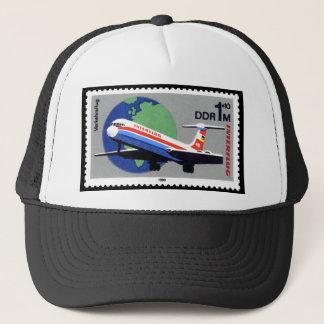 INTERFLUG - National Airline of DDR, East Germany Trucker Hat
