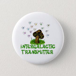 Intergalactic Transmitter 6 Cm Round Badge