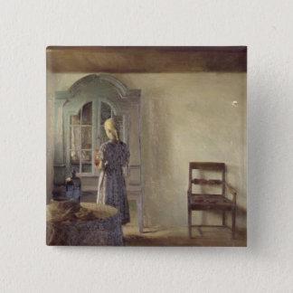 Interior, 1896 15 cm square badge