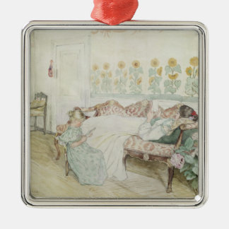 Interior, 1898 christmas ornament