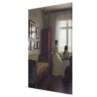 Interior, 1901 canvas print