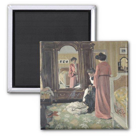 Interior, 1904 square magnet