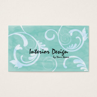 Interior Design Batik Business Card