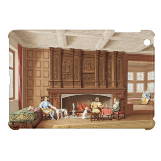 Interior Design Elizabethan Fireplace Vintage 1800 iPad Mini Cover