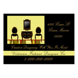 Interior Designer Pack Of Chubby Business Cards