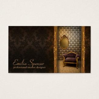 Interior Designer Classic Style Chocolate Card