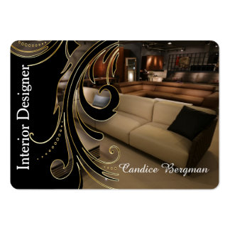 Interior Designer Design Consultant Pack Of Chubby Business Cards