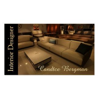 Interior Designer Design Consultant Pack Of Standard Business Cards
