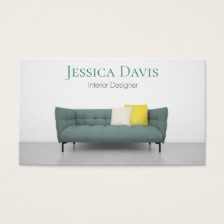 Interior Designer Furniture Business Card