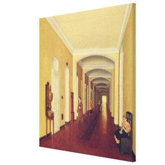 Interior in the Golitsyn Hospital, c.1840 Canvas Print